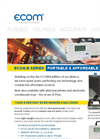 Ecom - Model B - Durable Case Mounted Analyzer Brochure