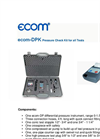 Ecom - Model DPK - Pressure Measurement Analyzers Brochure