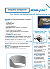 Skim-pak - Series 18500 - Stainless Steel Flow - Control and Floating Fixed Weir Surface Skimmer Systems Brochure