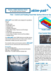 Skim-pak - Series 11800 - Stainless Steel Flow - Control and Floating Fixed Weir Surface Skimmer Systems Brochure