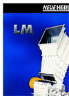 Model LM Series - Granulators Brochure