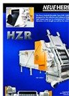 Model HZR - Pipe Shredder Brochure