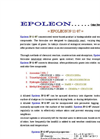 EPOLEON N-11-87 Concentrated Water-Based Product - Brochure