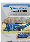 DuraTech - Model 2009 - Tub Grinder Brochure