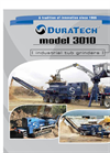 DuraTech - Model 3010 - Fifth Wheel Tub Grinder Brochure