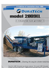 DuraTech - Model 2009 - Electric Tub Grinder Brochure