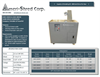 Ameri-Shred - Model Series 1 - Hard Drive Shredders - Brochure