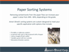 Paper Metering Systems Overview Brochure