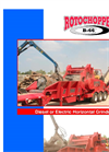 Rotochopper - Model B-66 - Diesel Horizontal Grinders - Brochure