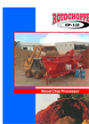 Rotochopper - Model CP-118 - Wood Chip Processors - Brochure