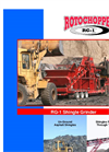 Rotochopper - Model RG-1 - Asphalt Shingle Grinder - Brochure