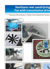 Fan with Transmission Drive  Brochure