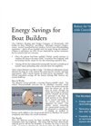Energy Savings for Boat Builders. Reduce Air Ventilation while Controlling Odors