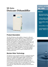 Munters - Model ML1350 - Desiccant Dehumidifier - Brochure