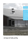 Air Cleaner for Poultry and Pigs - Brochure