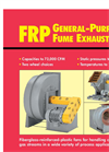 FRP General Purpose Fume Exhausters Brochure