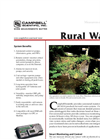 Rural Water Brochure (PDF 4.7 mb)