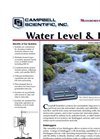 Water Level & Flow Brochure (PDF 214 KB)