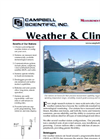 Weather & Climate Brochure (PDF 427 KB)