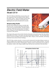 CS110 Electric Field Meter Brochure (PDF 347 KB)