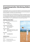 ET107 Evapotranspiration Monitoring Station Brochure