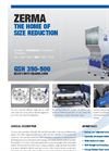 GSH - Model 350-500 - Heavy Duty Granulators- Brochure