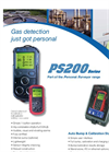 Model PS200 4 - Gas Personal Safety Monitor Brochure