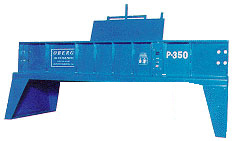 Model P- 350 - Heavy Duty Locomotive and Industrial Oil Filter Crusher