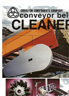Brush Style Belt Cleaner BR Series - Brochure