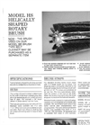 Helically Shaped Brush HS Series - Brochure