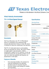 Model TV-114 - Wind Speed Sensor Brochure