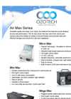 Micro Max - Ozone Output Air Treatment System Brochure