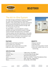 Rusmar - Model BSD7000 - Bulk Storage and Dilution System Datasheet