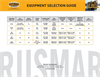 Rusmar Landfill Equipment - Selection Guide Datasheet