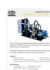 Model PFU NTC/8 - Compact and Portable Foam Generating System Datasheet