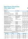 HDPE Micro Spike Product Data Sheet