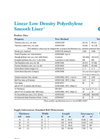 LLDPE Smooth Liner Data Sheet