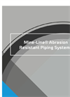Model Mine-Line - Abrasion Resistant Piping Systems Brochure