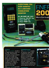 Enerac - 200EX - Micro-Combustion Analyzer Brochure