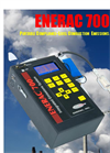 Enerac - M700 - Portable Compliance-Level Combustion Emissions Analyzer Brochure