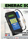 Enerac - M500 - Handheld Portable Combustion Efficiency Emissions Analyzer Brochure