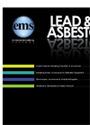 ems 2007 2008 Product Guide  All Lead & Asbestos Products