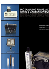 ems 2007 2008 Product Guide  IAQ Sampling Pumps, Accessories, Timers & Calibration Equipment