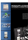 ems 2007 2008 Product Guide  Lead & Asbestos Microscopes, Accessories, Slides, Coverslips & Analytical Supplies