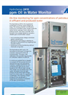HydroSense - 2410 - On-line ppm Oil in Water Monitor Analyzer - Brochure