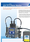 HydroSense 3410 PPM Oil in Water Monitor - Brochure