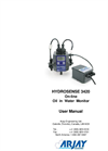 HydroSense - 3420 - On-line Oil in Water Monitor User Manual
