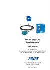 Arjay 2852-LPS Area Leak Alarm - User Manual