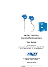 Arjay 2852-ILA Interstital Tank Leak Alarm - Manual