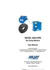 Arjay 2852-DPM Dry Pump Monitor - User Manual